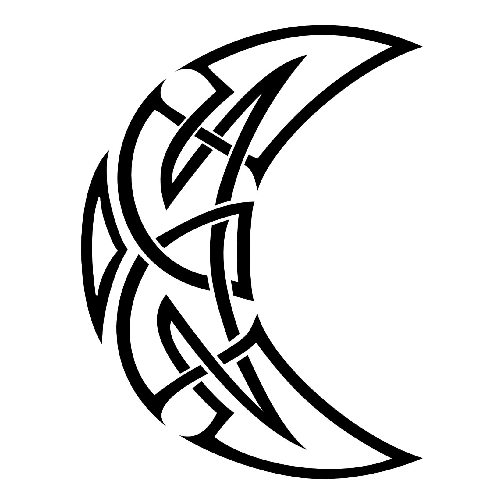 Celtic Sun And Moon