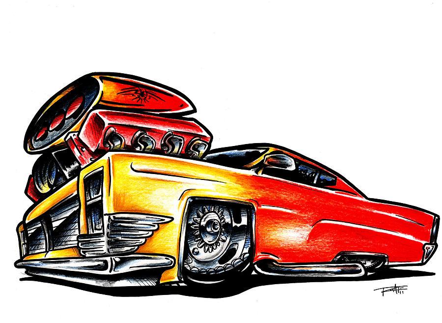 Muscle Cars Cartoon - ClipArt Best (900 x 657 Pixel)