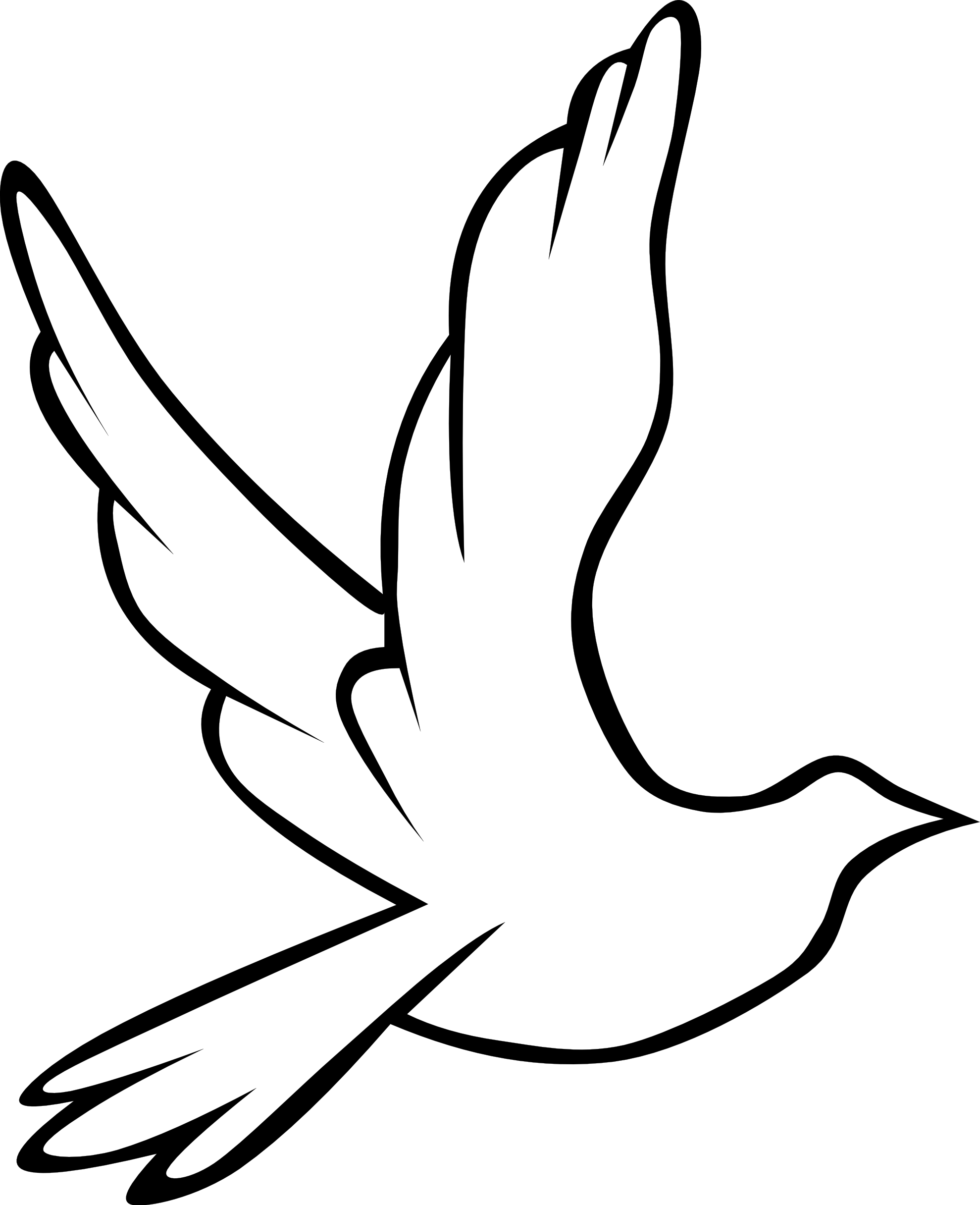 Peace Sign Dove