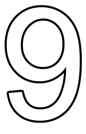 Number 6 Template. number 5 template cake ideas and designs. best ...
