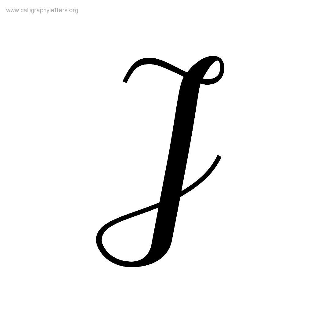 Fancy Letter I