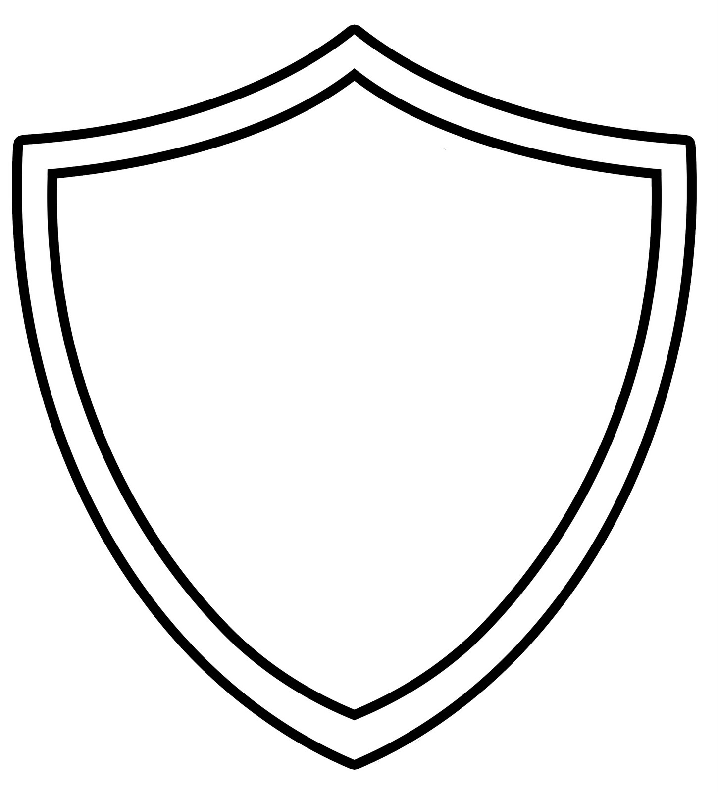 shields of computers colouring pages