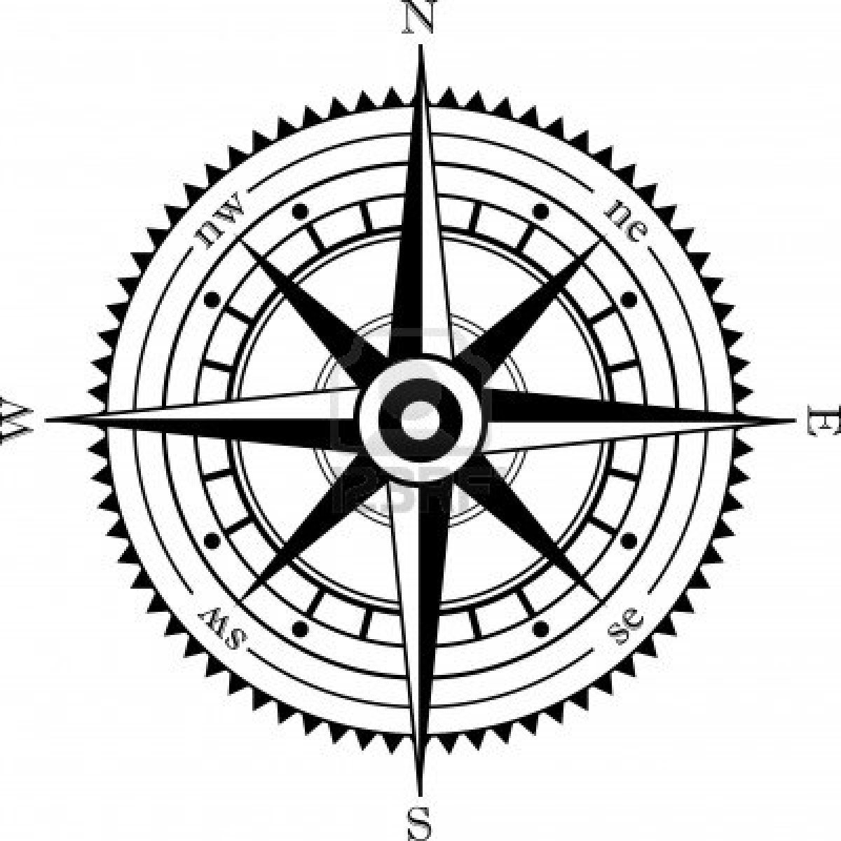 Compass Rose Clip Art Free
