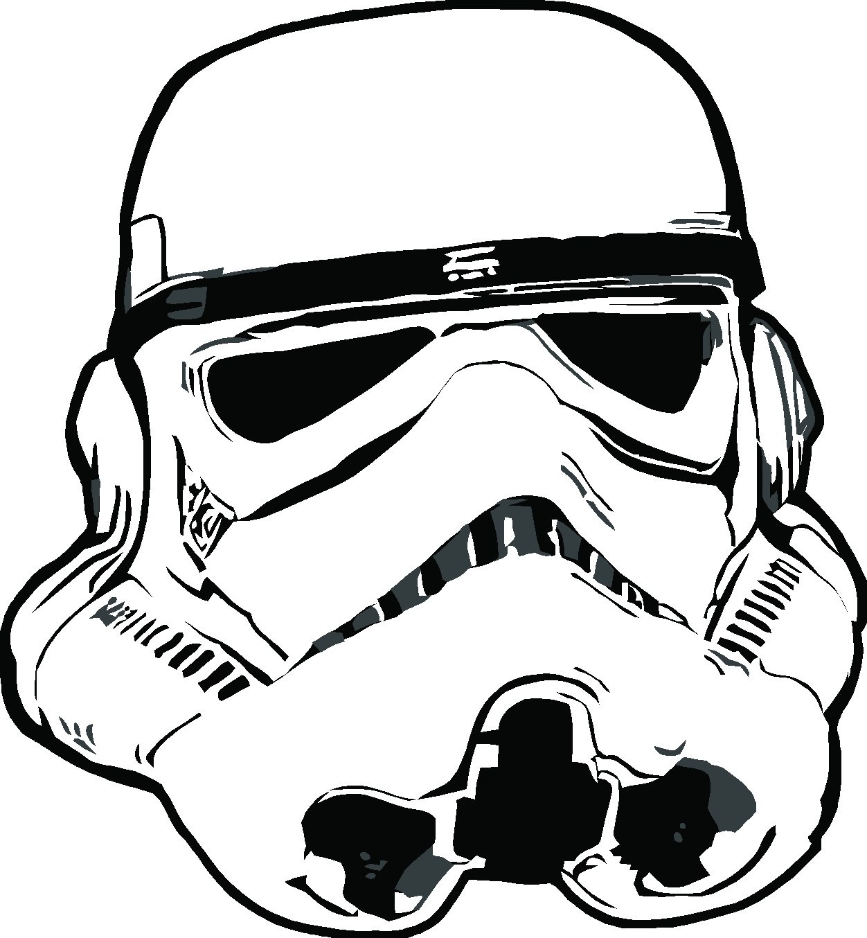Star Wars Storm Troopers Colouring Pages Page 3