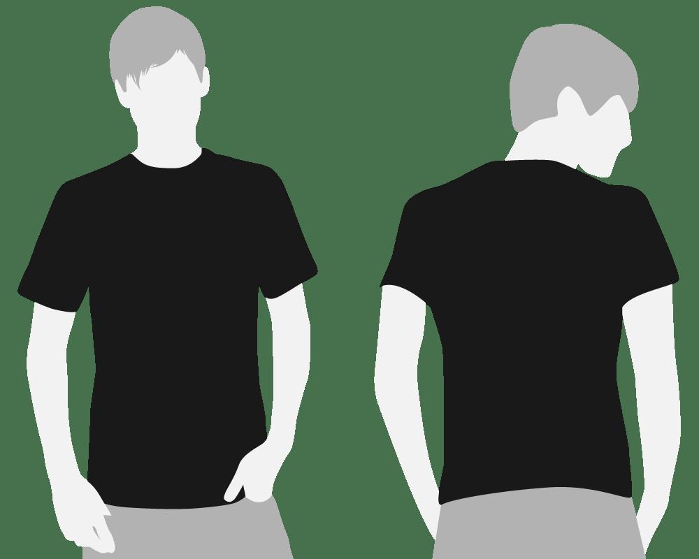 Shirt Design Template. free blank t shirt design template vector ...