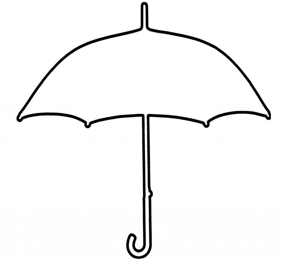 Beach Umbrella Template - ClipArt Best (940 x 864 Pixel)