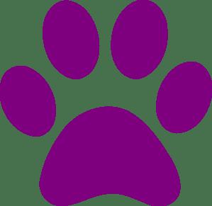 Bunny Paw Print Clip Art - ClipArt Best (299 x 291 Pixel)