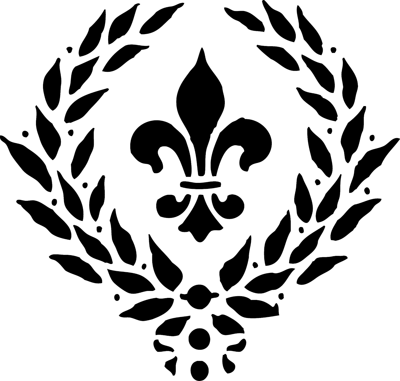 Take Your Picture Vintage Fleur De Lis Clip Art