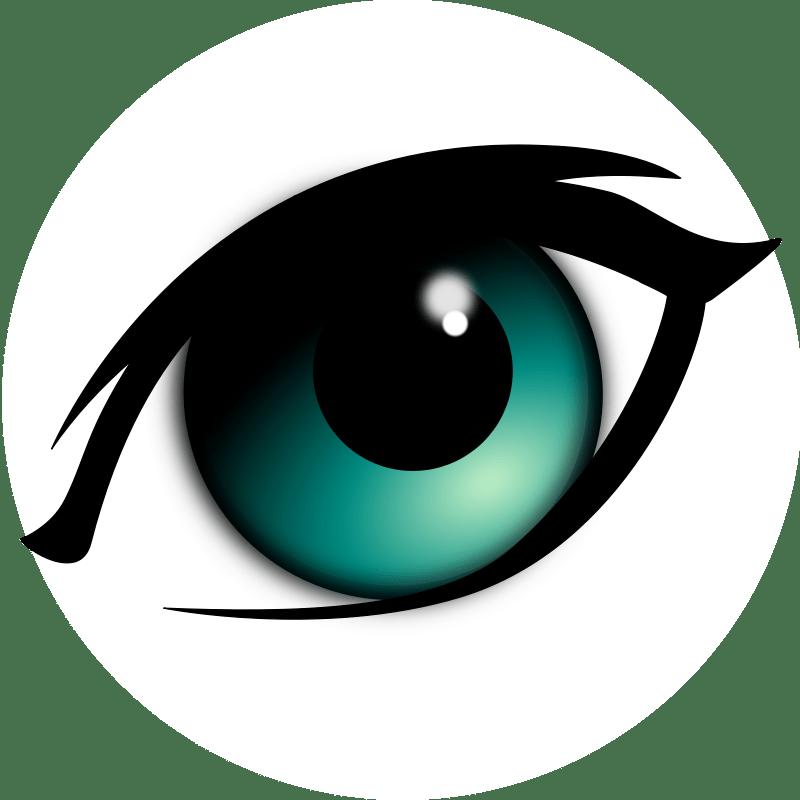Cartoon Eyes Clipart - ClipArt Best (800 x 800 Pixel)