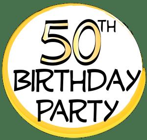 50th Birthday Clip Art - ClipArt Best (300 x 287 Pixel)
