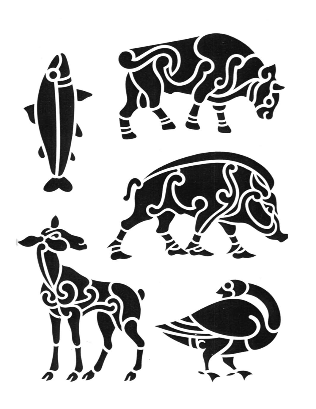 Tribal Grim Reaper Tattoo Designs