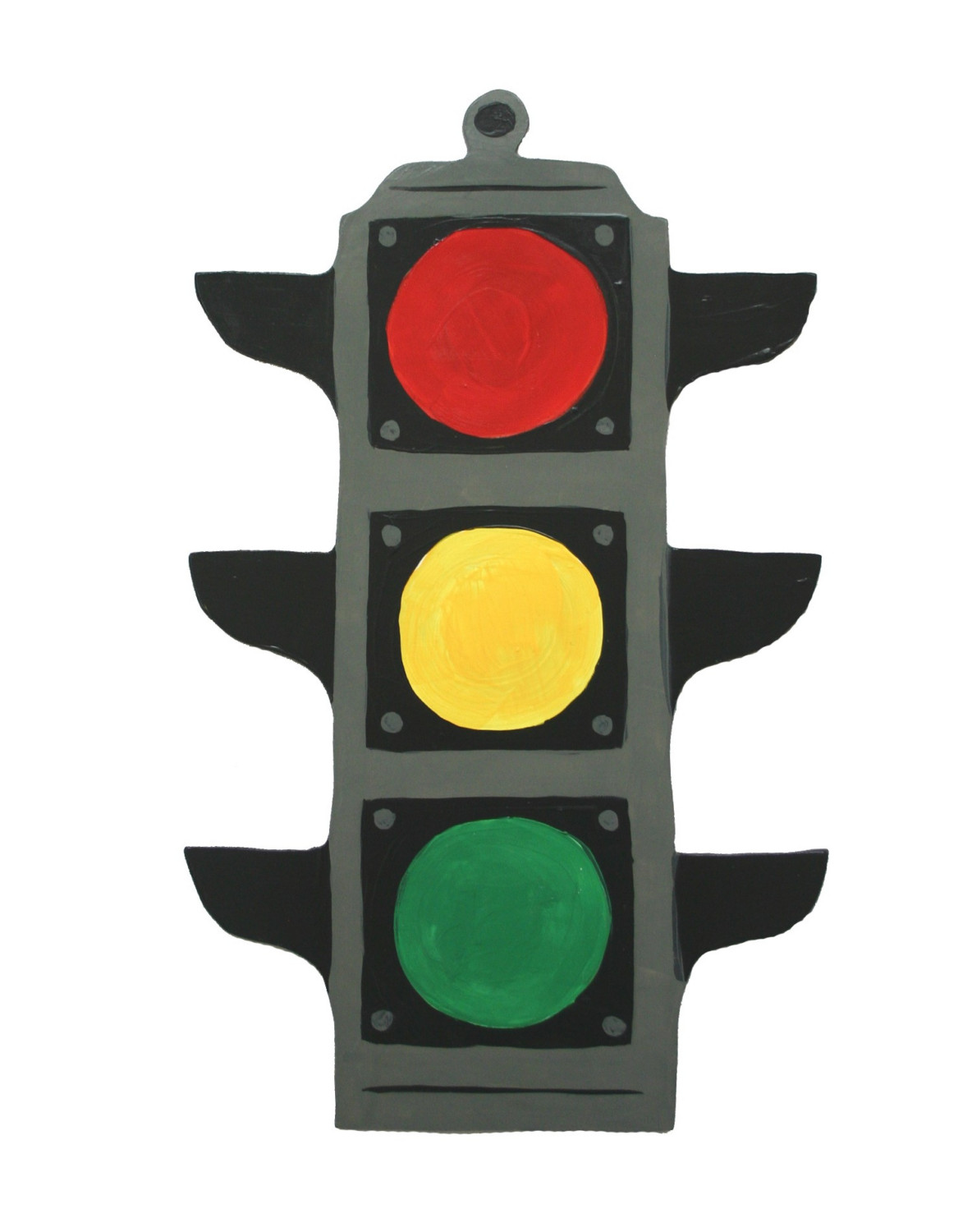 stoplight coloring page clipart best