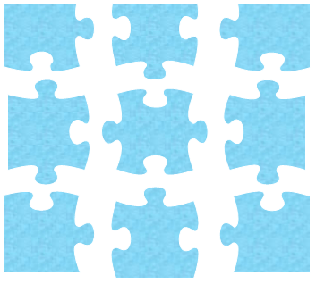 Puzzle Piece Template Printable. of 6 puzzle pieces template 6 ...