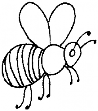 bumble bee coloring pages clipart best