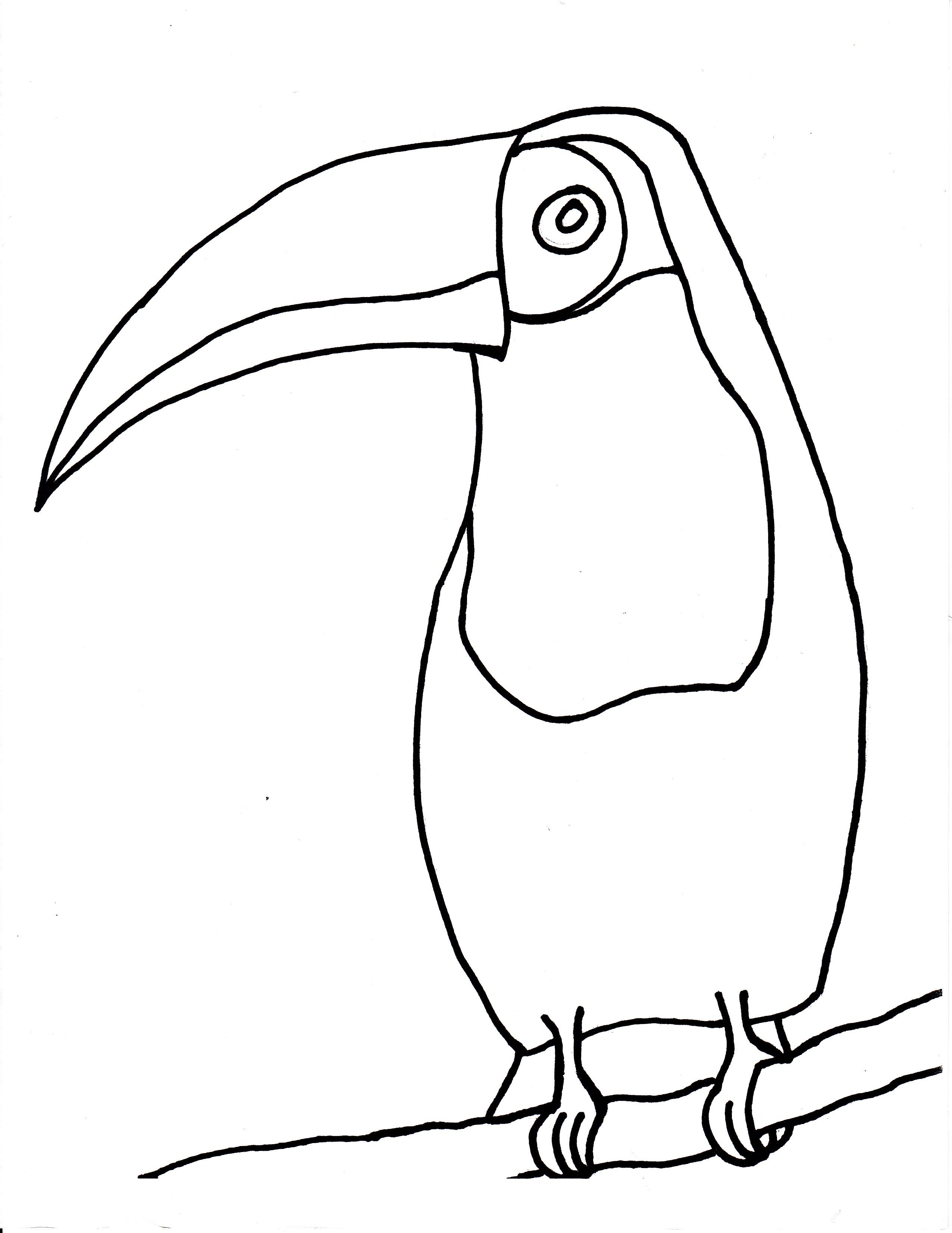 Bird Beak Template