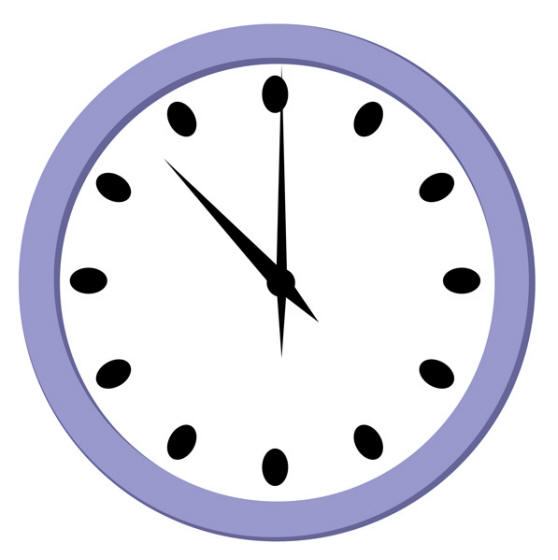 pin clip art clock digital blank face coloring page preview 1 on
