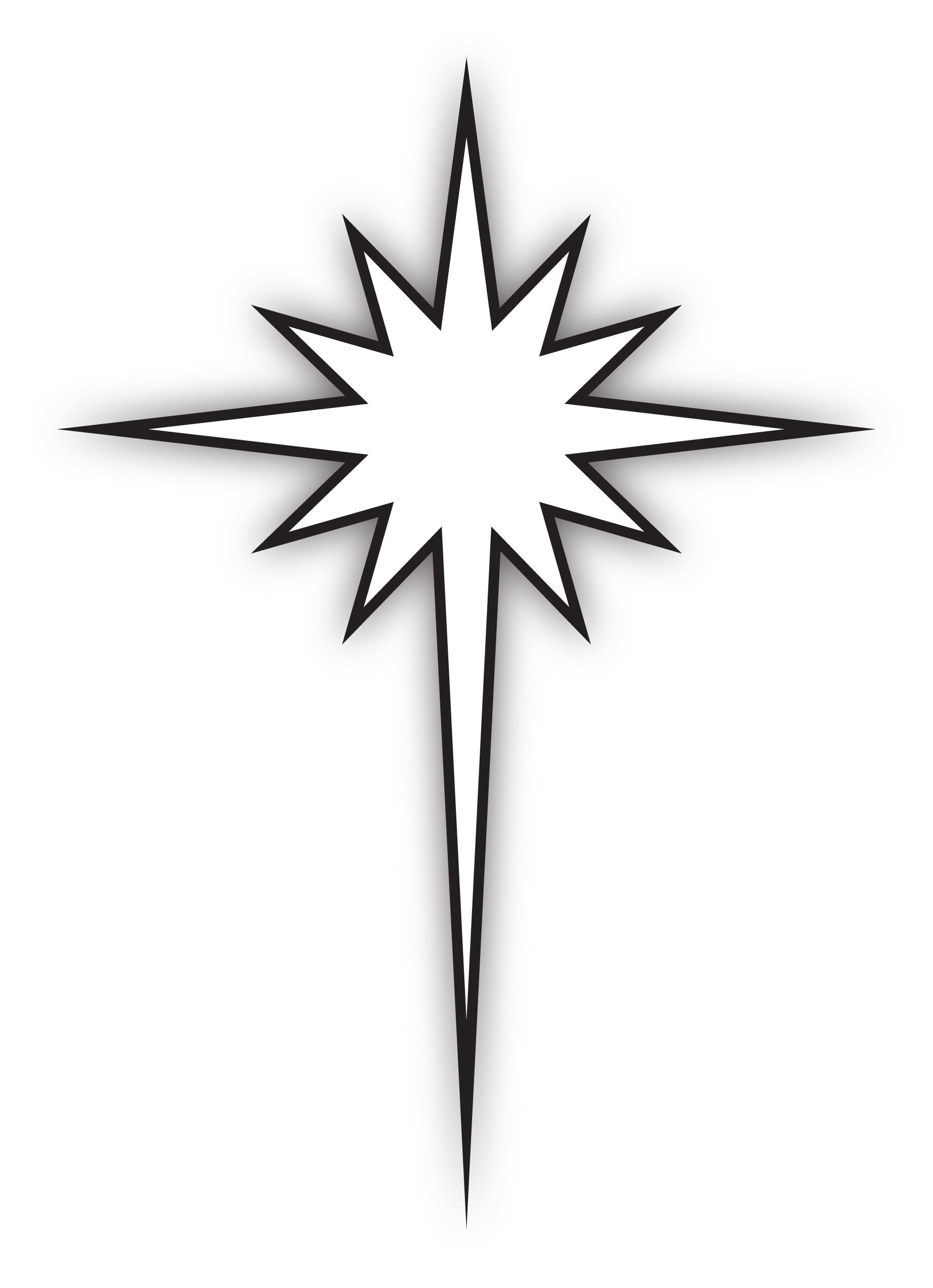 North Star Clip Art - ClipArt Best (1848 x 2551 Pixel)