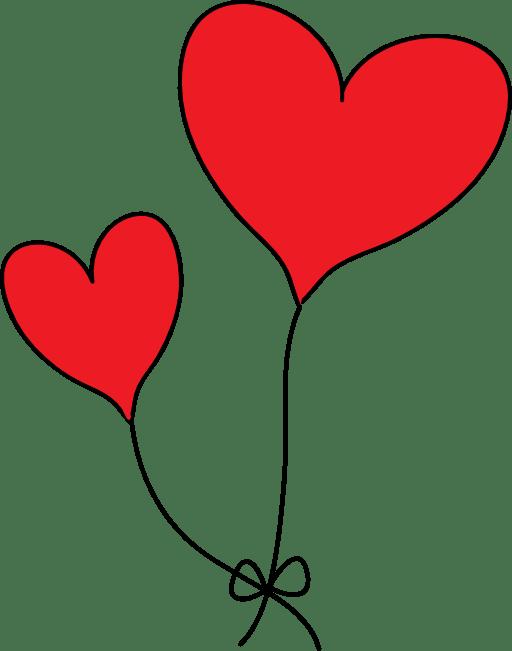 Two Heart Clipart - ClipArt Best (512 x 651 Pixel)