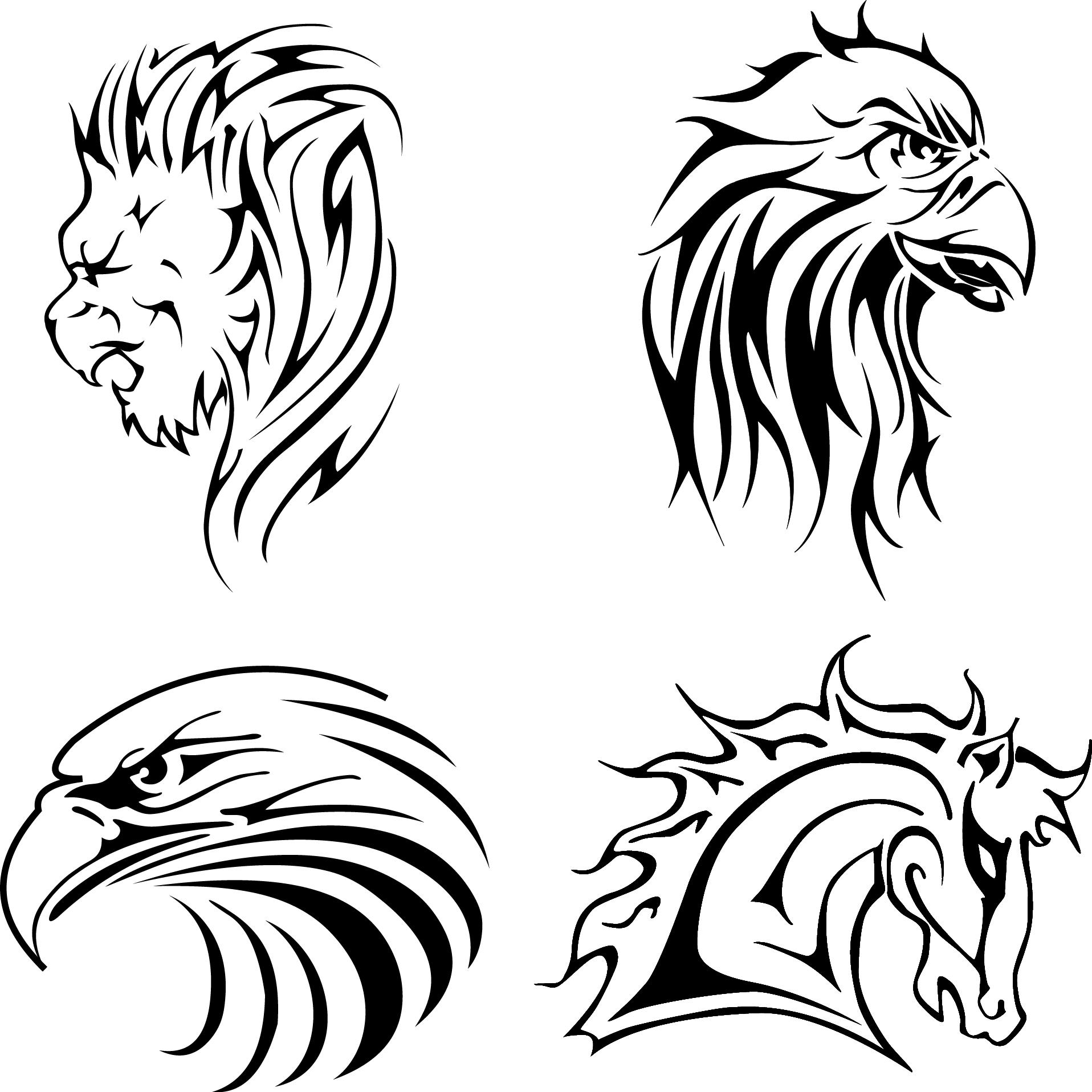 Eagle Head Vector Free Download