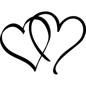 Heart Black And White Clipart - ClipArt Best (300 x 300 Pixel)