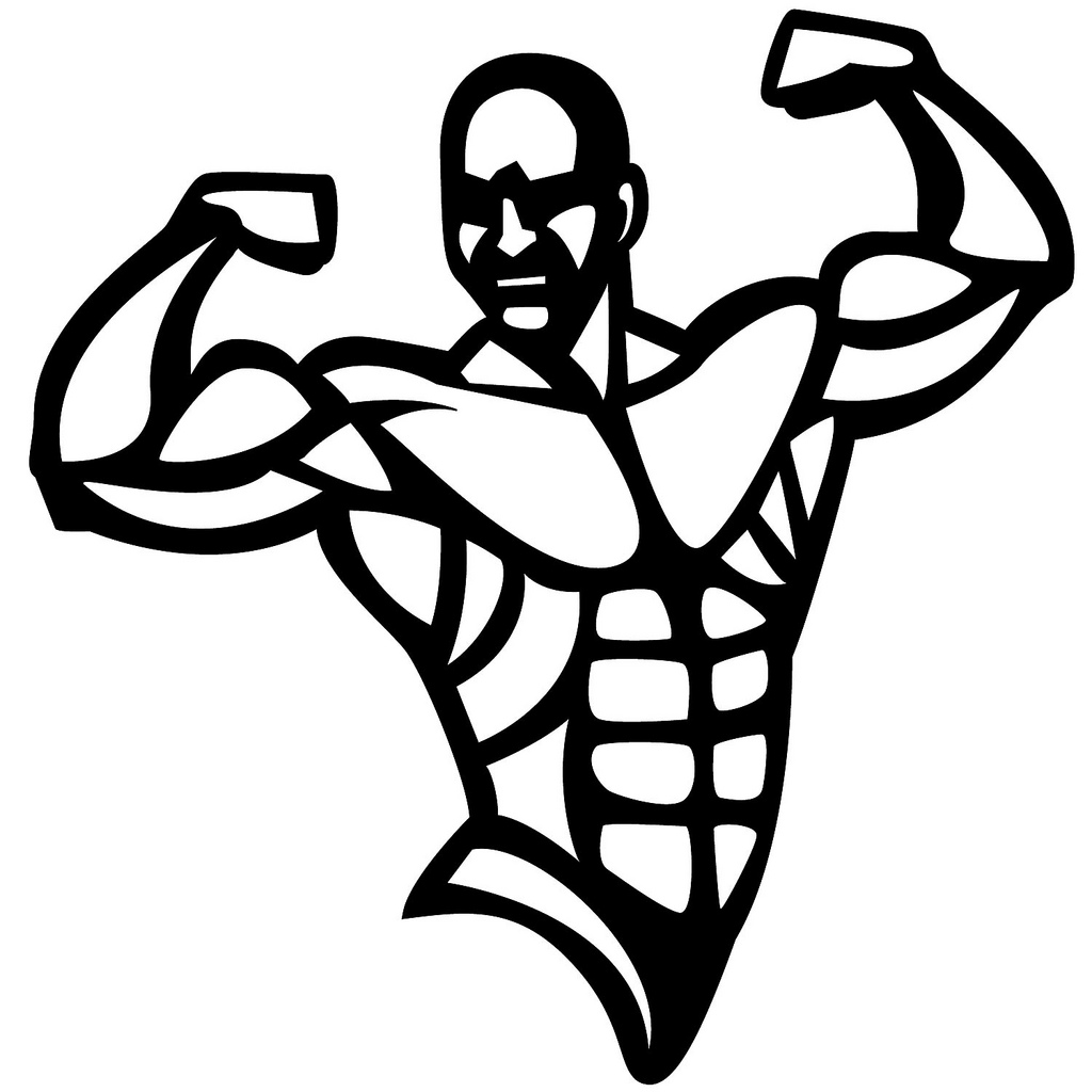 Bodybuilder Vector Image Flickr