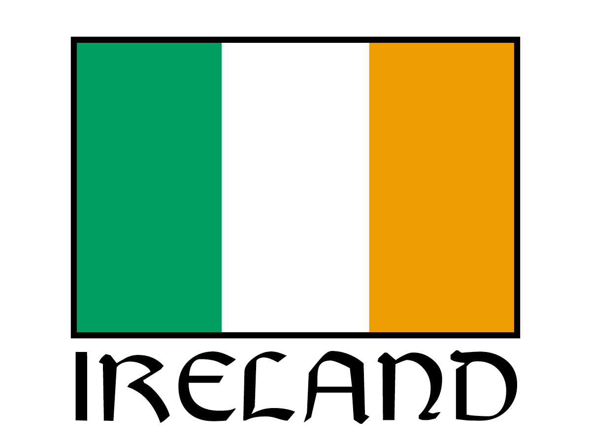 irish flag coloring page irish flag clip art