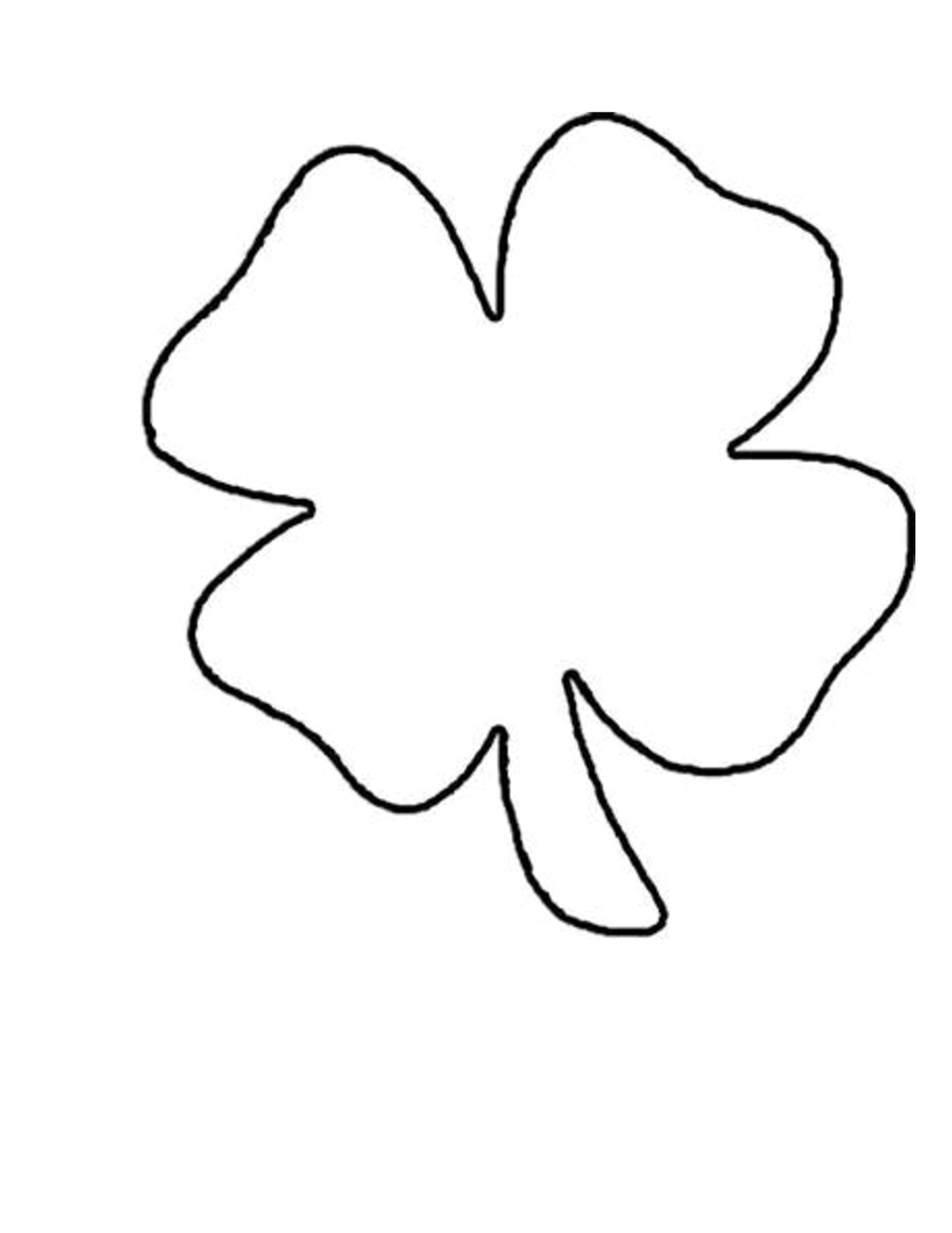 Four Leaf Clover Printables