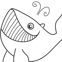 drawing of sword fish colouring pages page 3