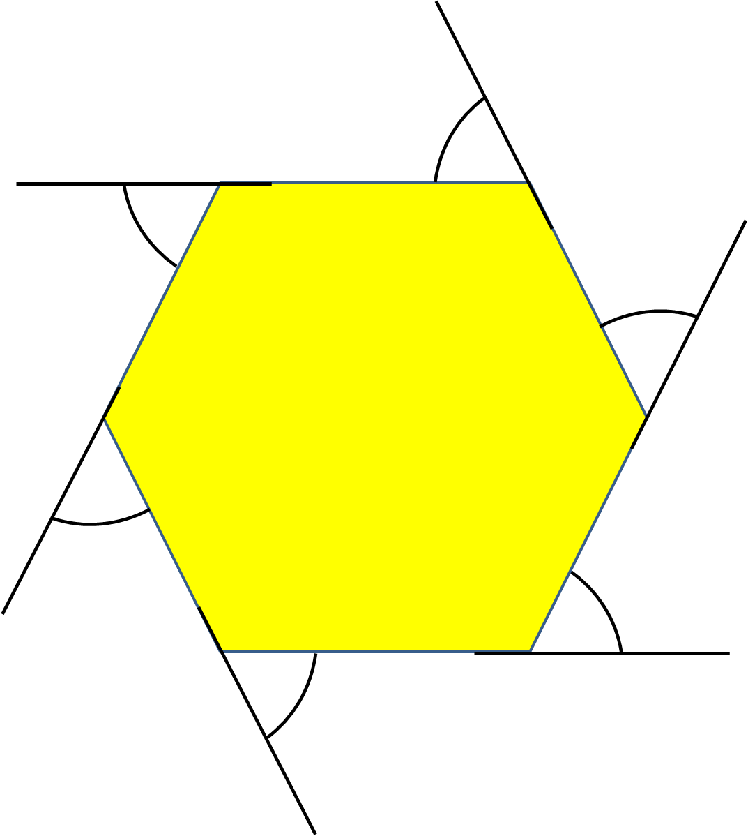 Exterior Angles Of Regular Polygons