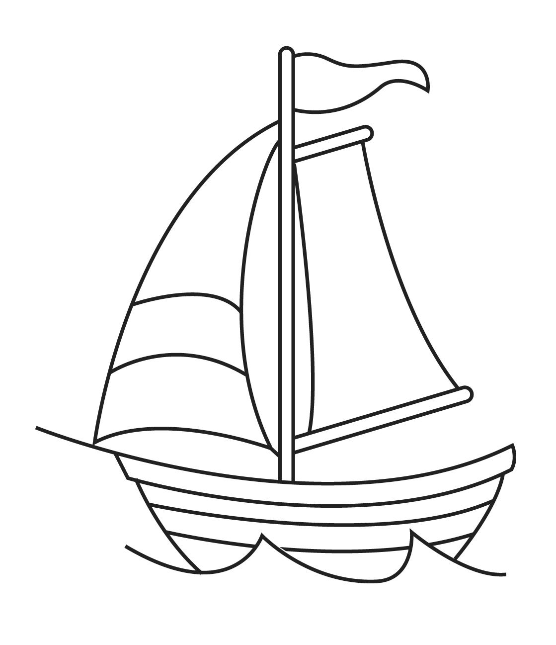 Sail Boat Drawings