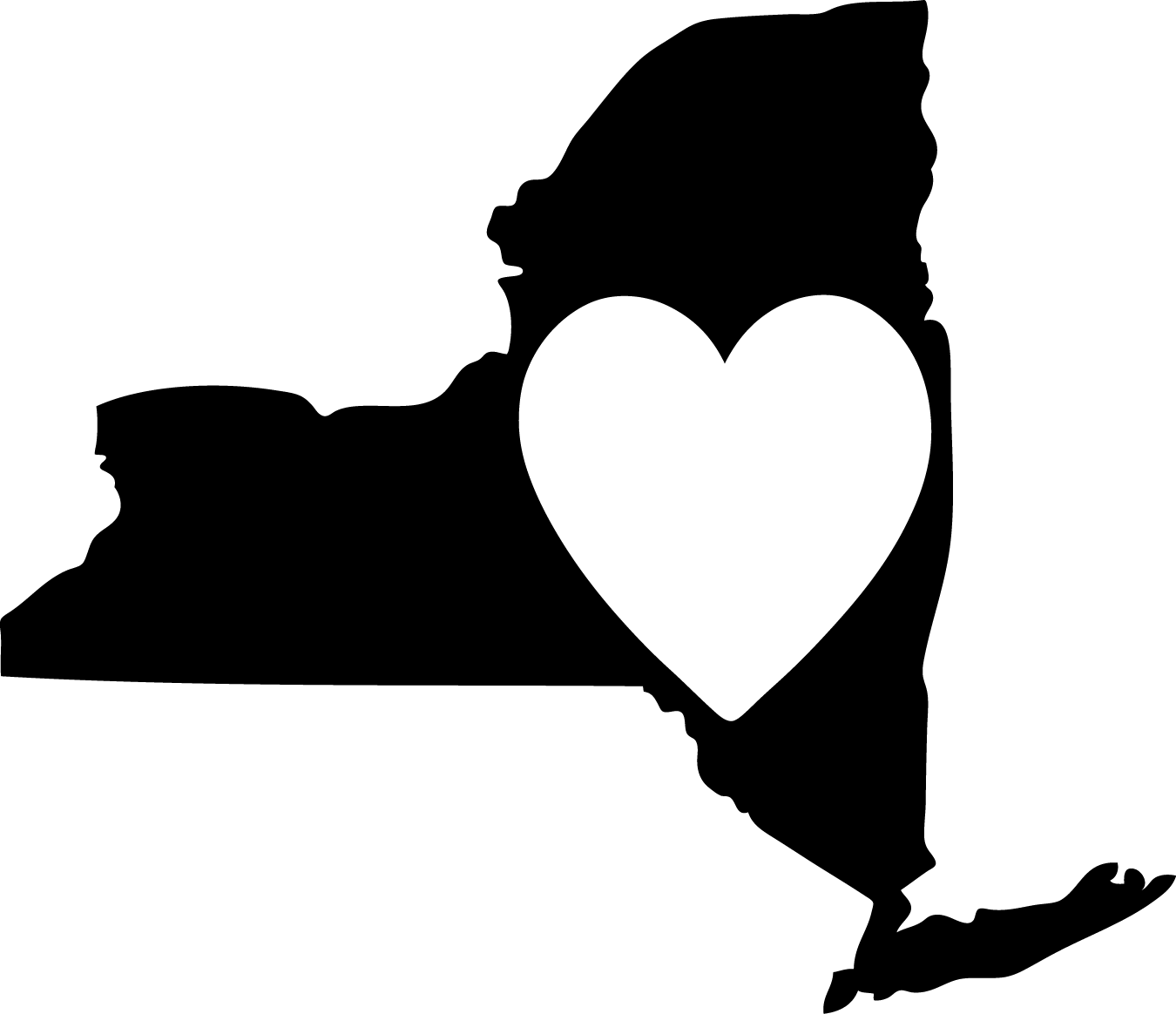 Nys Map Outline