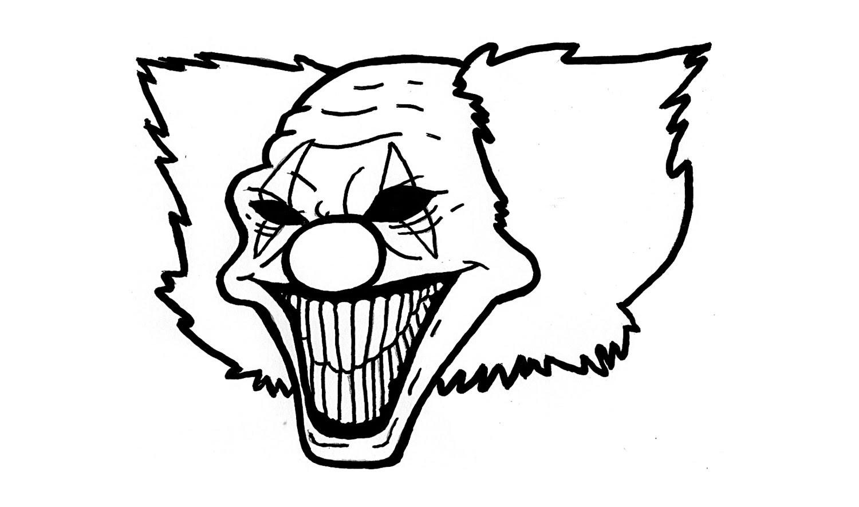 Draw A Scary Clown