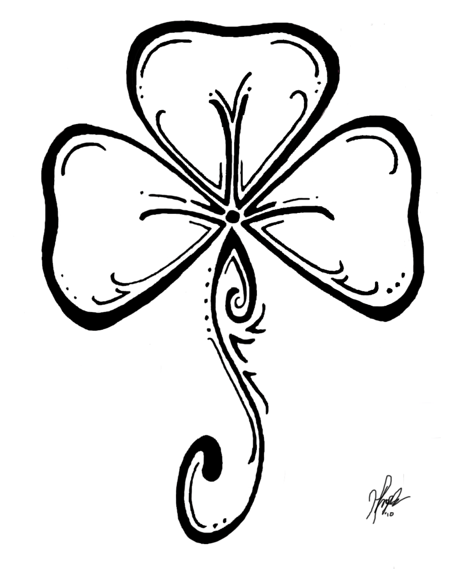 shamrock color page coloring pages amp pictures imagixs clipart