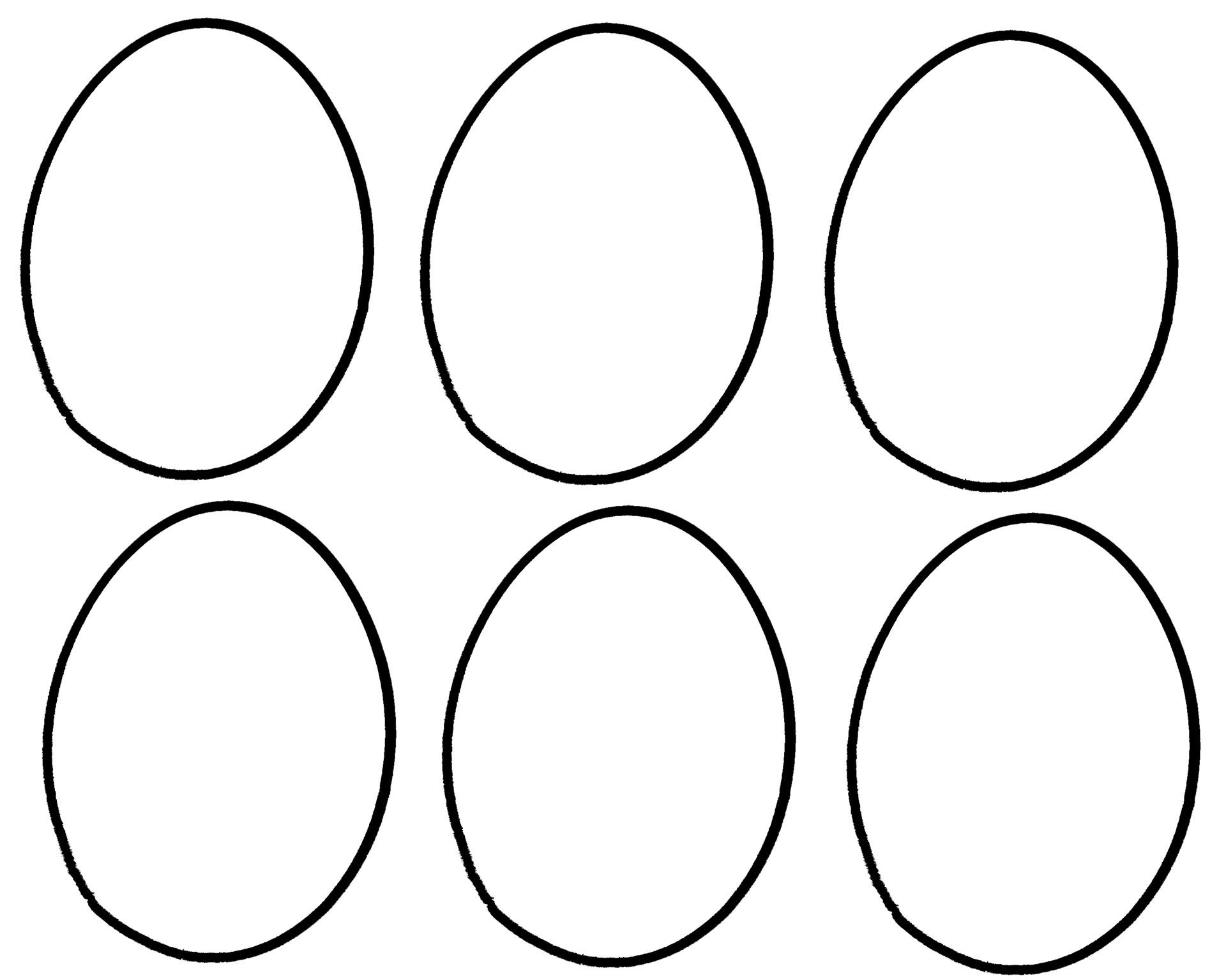 Egg Outlines