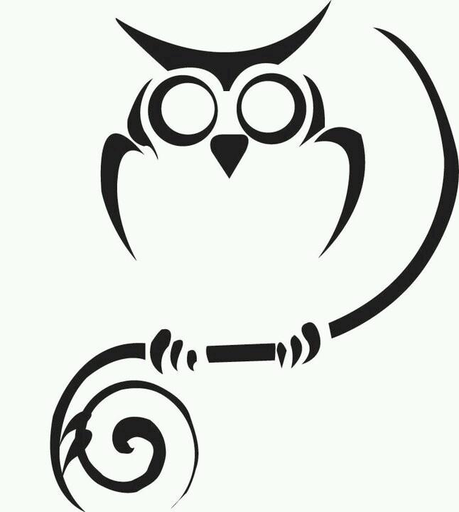 Owl Outline - ClipArt Best (646 x 720 Pixel)
