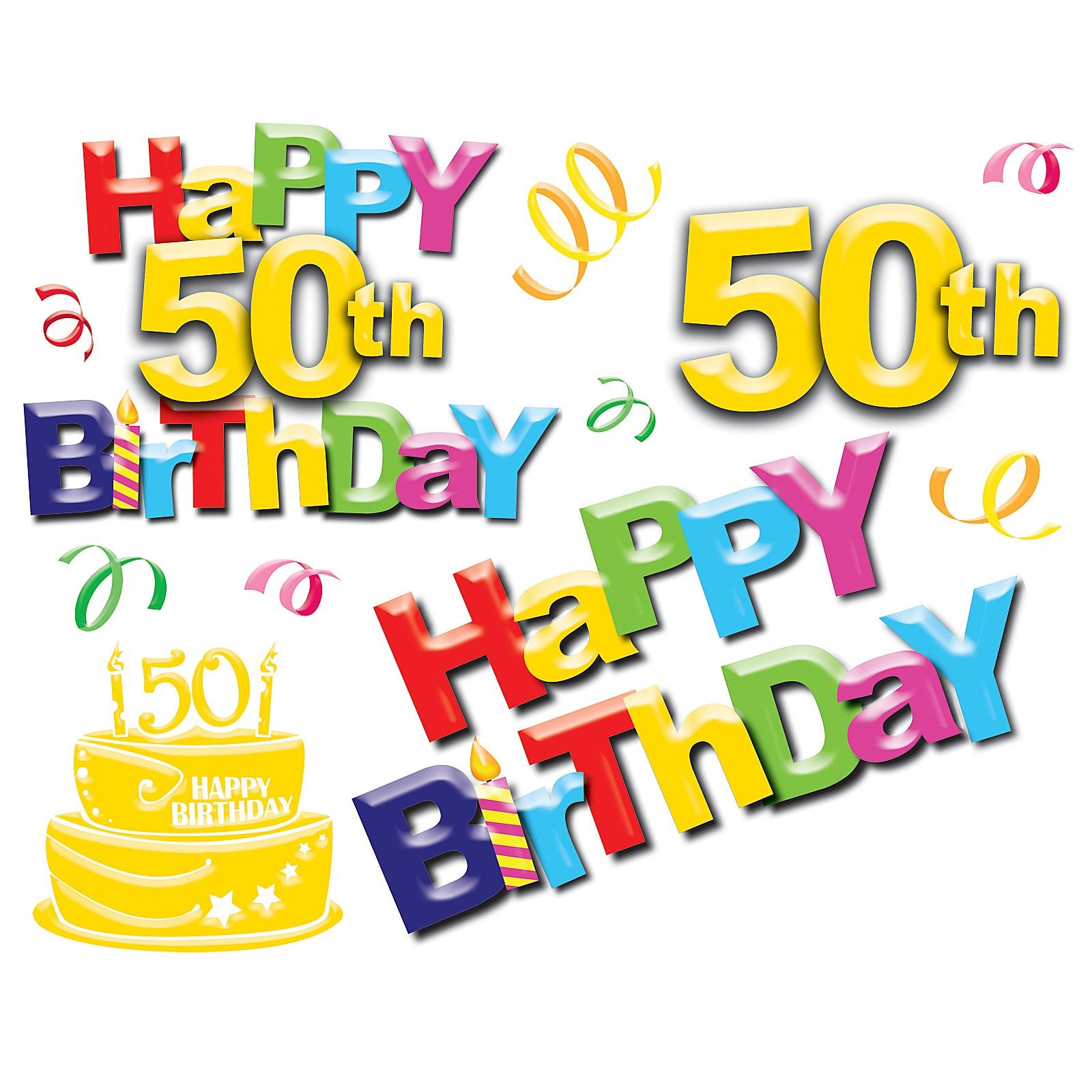 Free 50th Birthday Images Happy