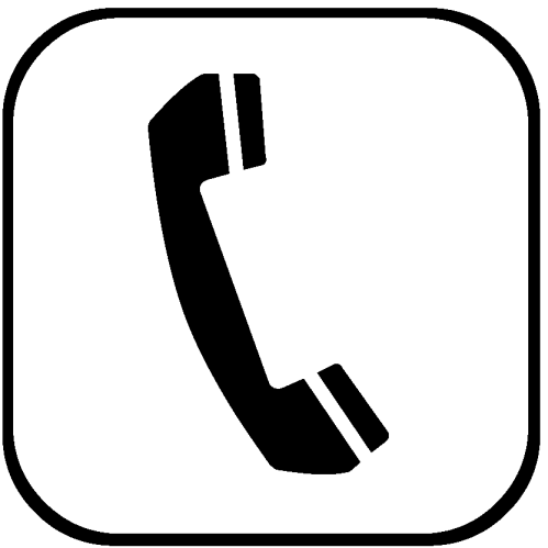 Telephone Logo - ClipArt Best (499 x 499 Pixel)