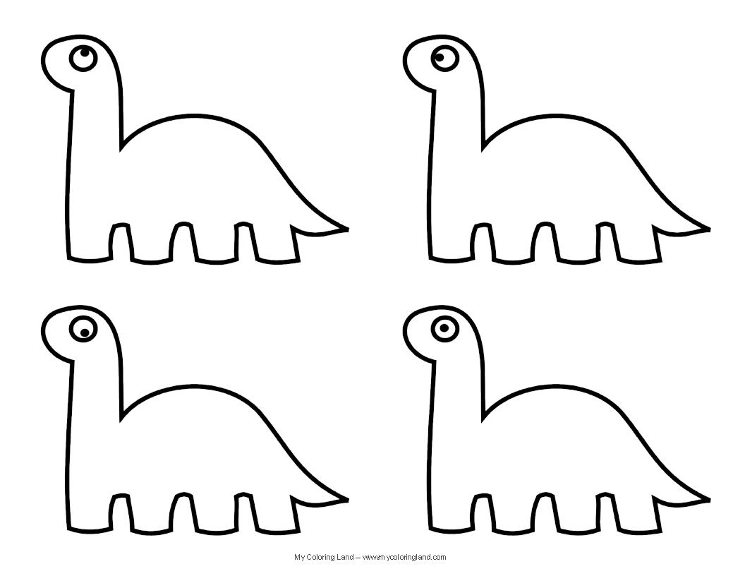 Printable Dinosaur Templates
