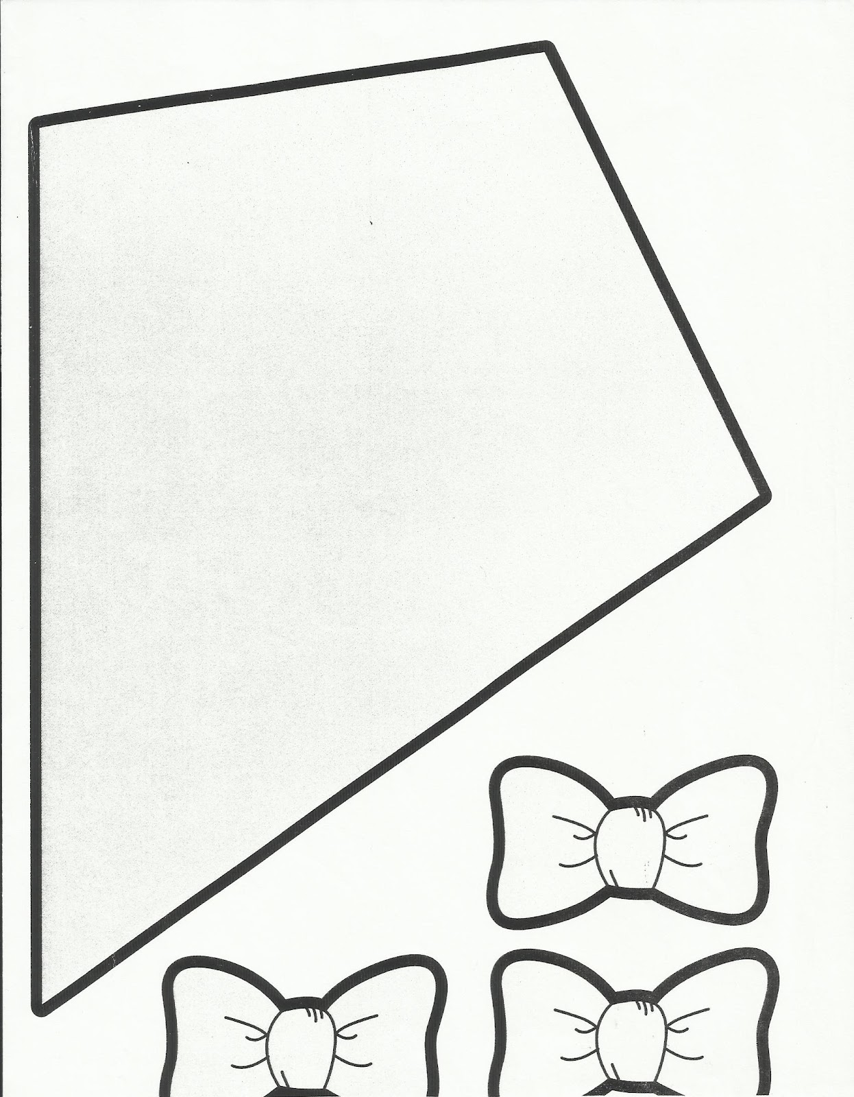 Kite Template For Kids