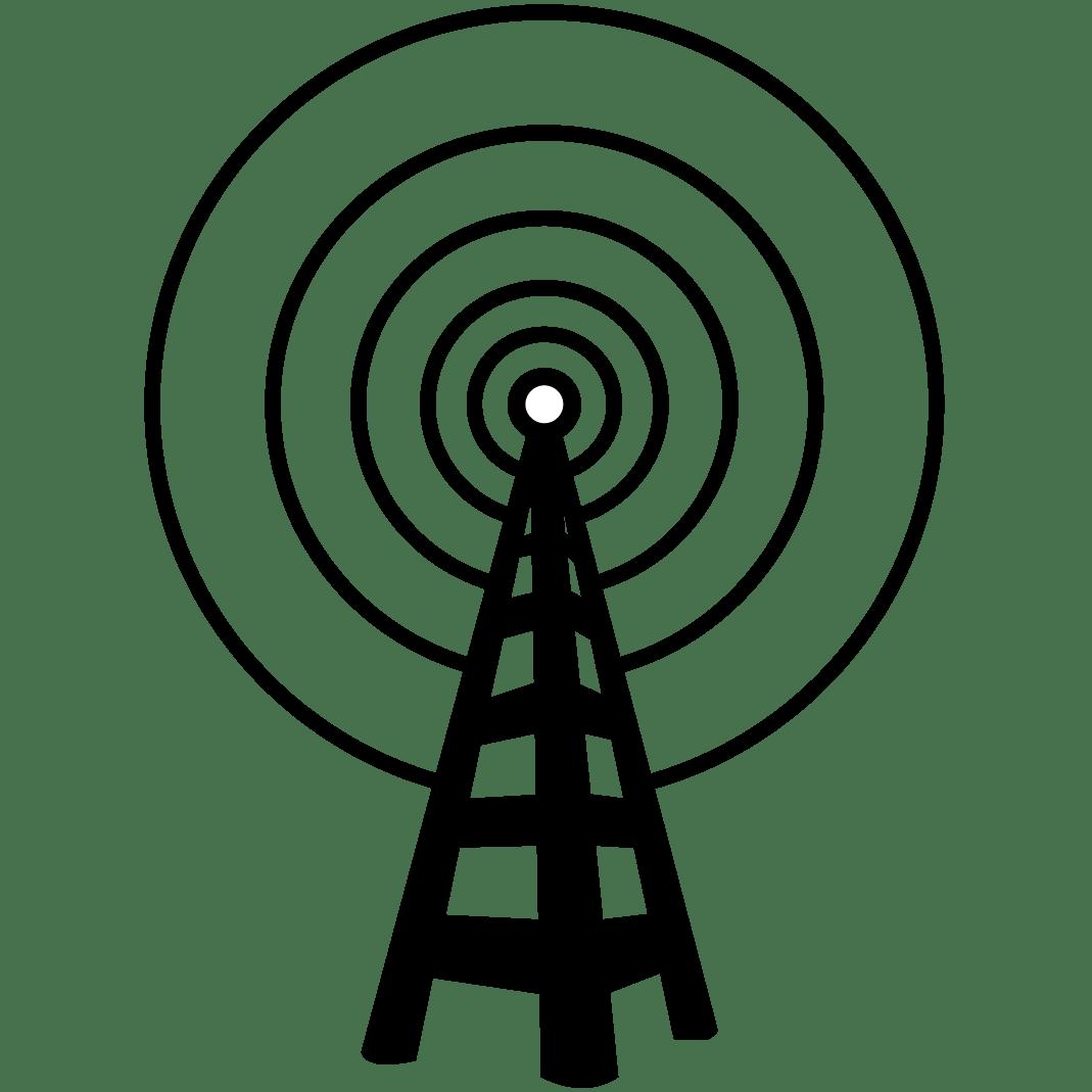 Radio Tower Logo