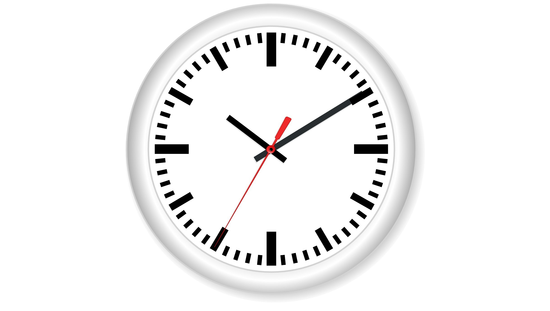 Animated Clock Ticking