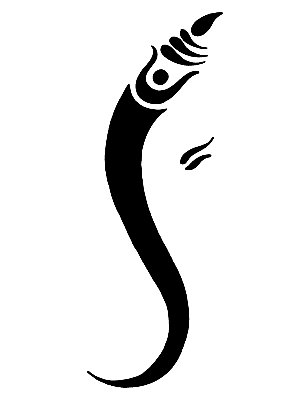 Face Ganpati Clip Art