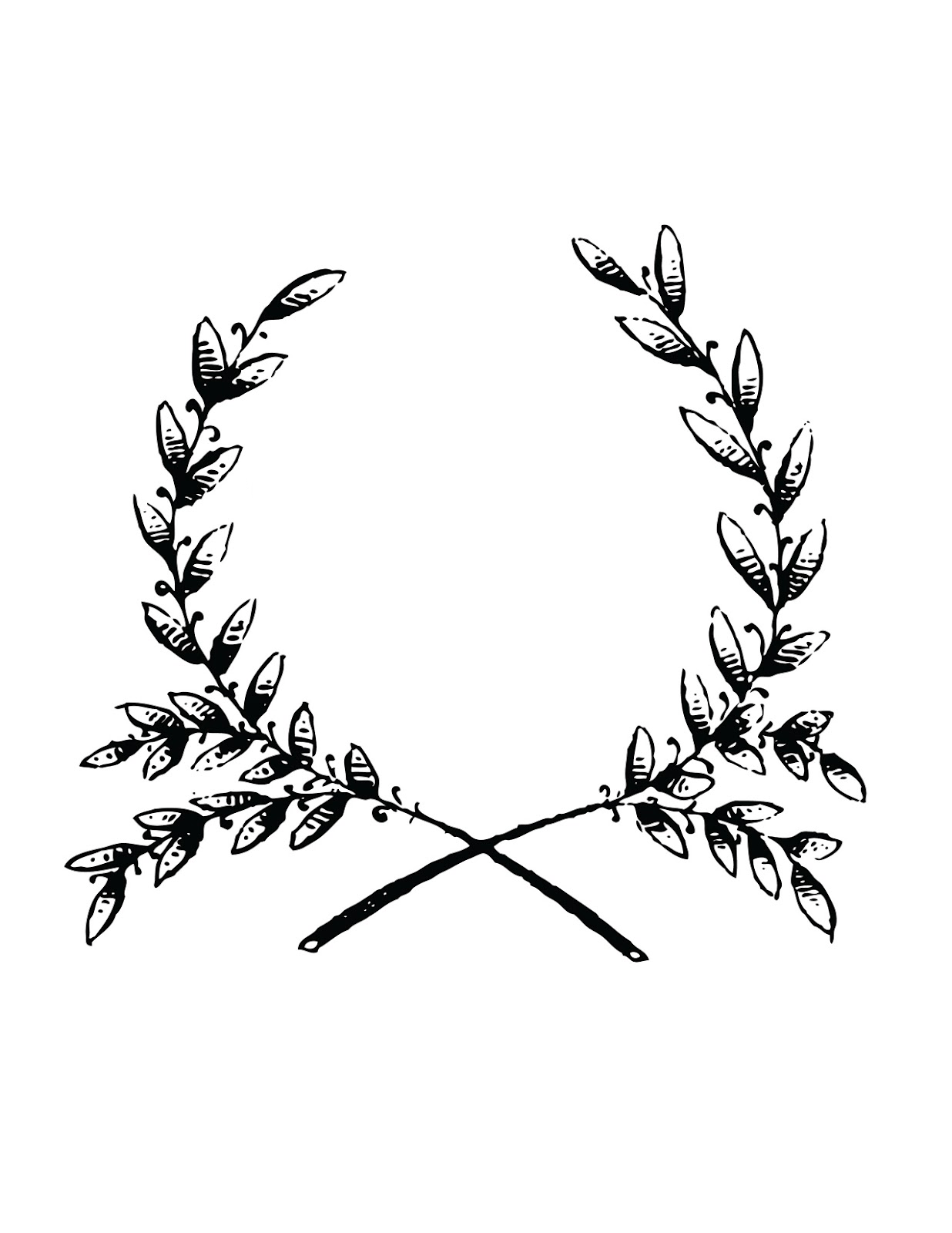 Laurel Wreath Tattoo