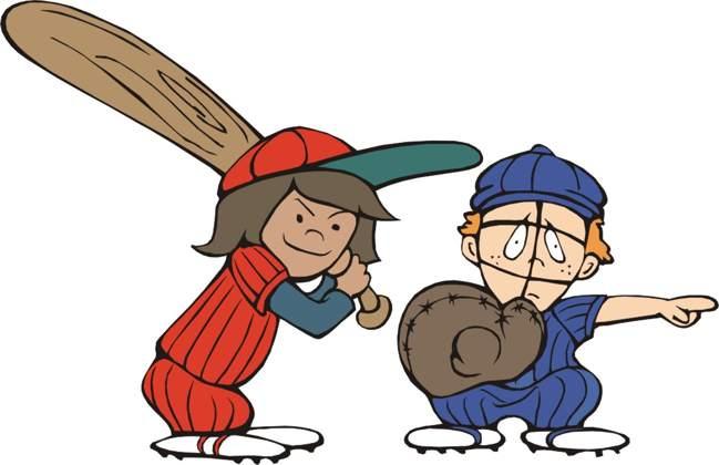 Kids Baseball Clipart - ClipArt Best (649 x 420 Pixel)
