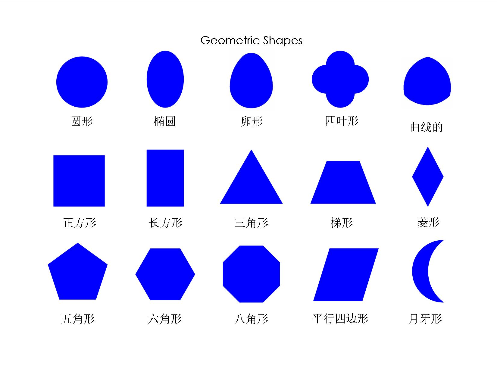 Geometric Shapes Pictures