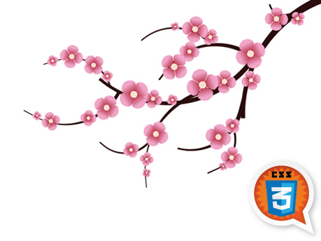 Japanese Cherry Blossom Clipart