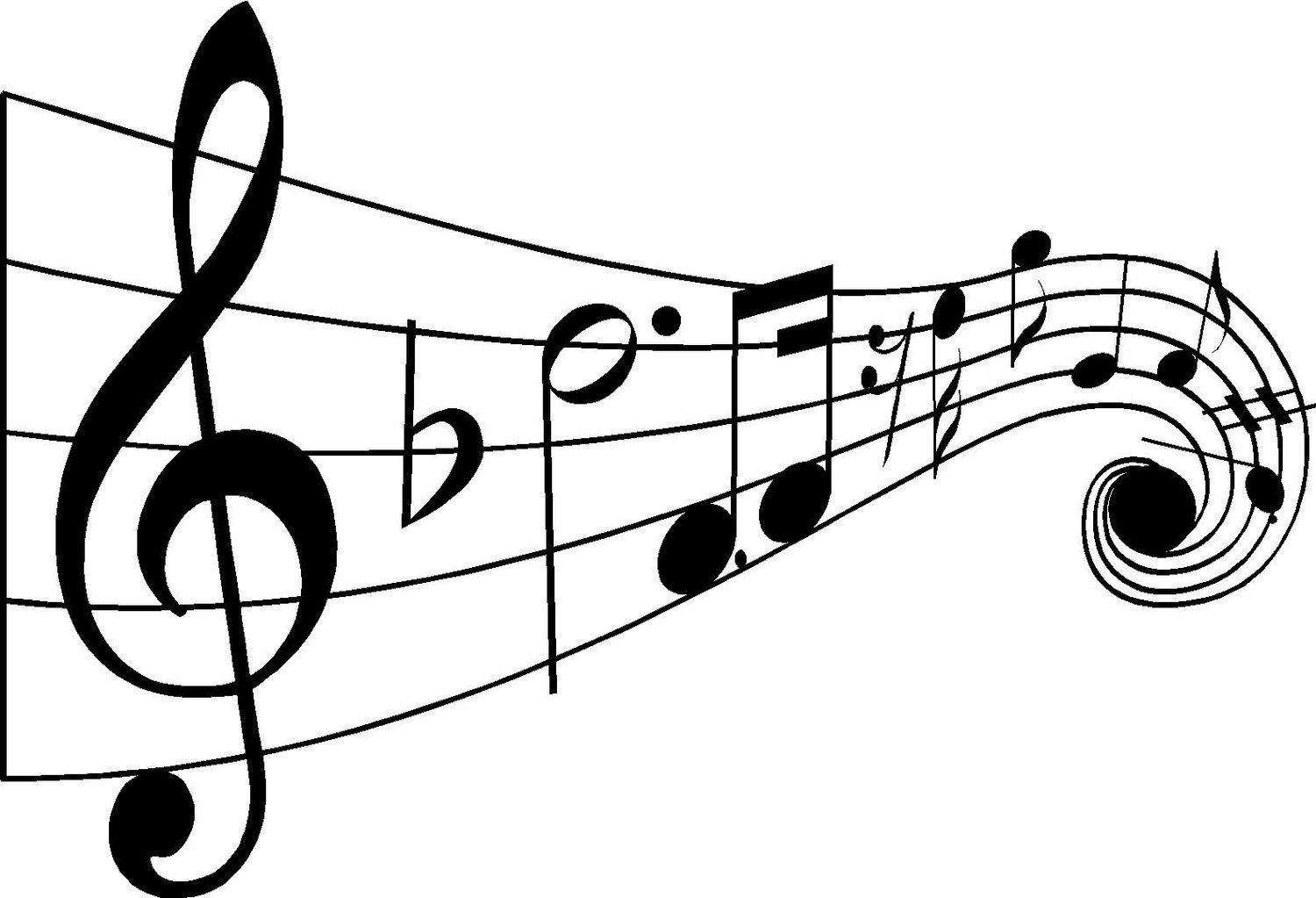 Music Notes Drawings