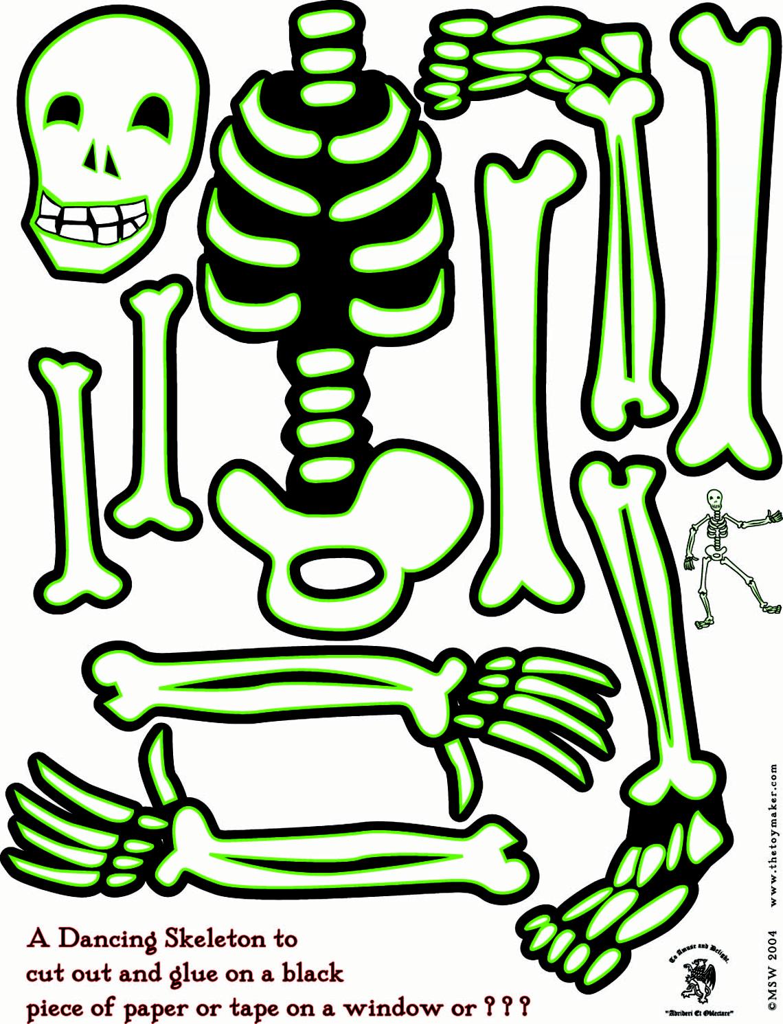 Skeleton Print Out