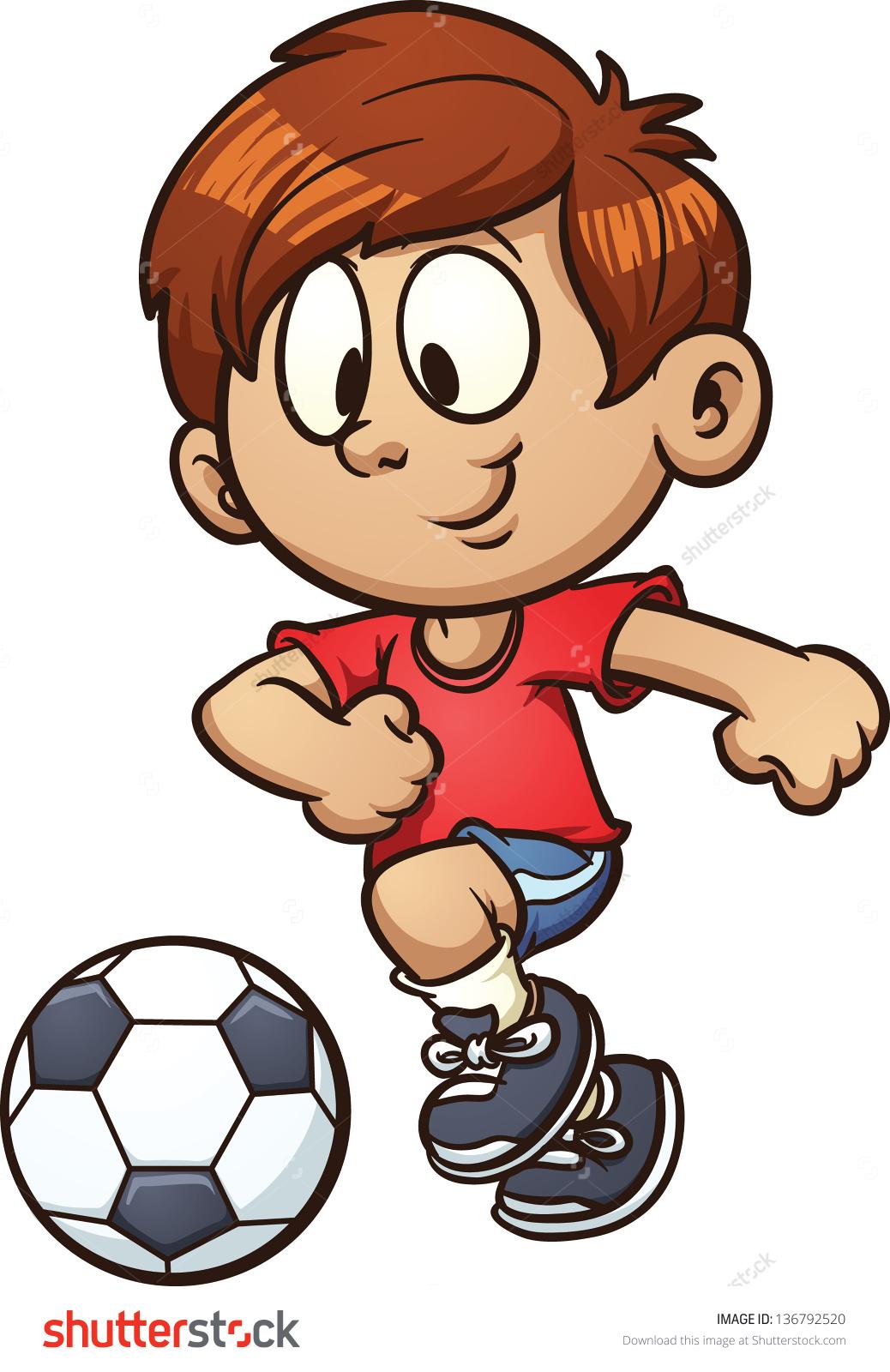 Boy Playing Football Clipart - ClipArt Best (1038 x 1600 Pixel)
