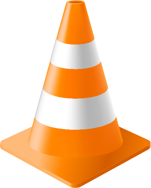 Cartoon Road Work Cone ClipArt Best
